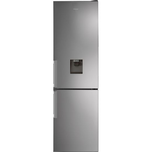 Hotpoint H7T911AMXHAQUA1 60/40 Frost Free Fridge Freezer - Stainless Steel Effect - F Rated