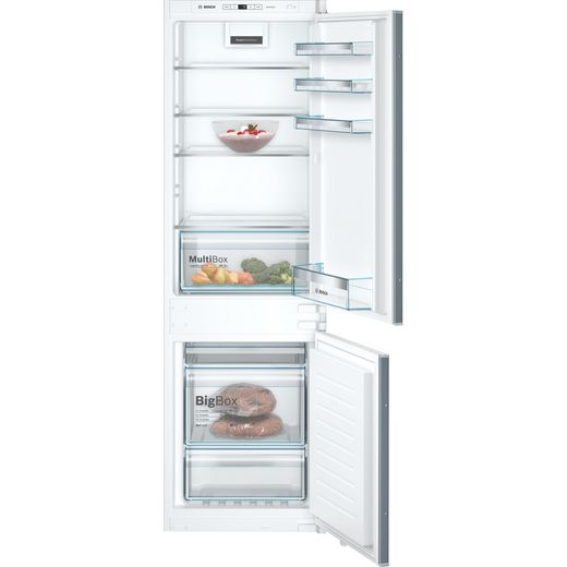 Bosch Serie 4 KIN86VSF0G Built In Fridge Freezer - White