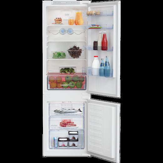 Beko HarvestFresh BCFD3V73 Built In Fridge Freezer - White