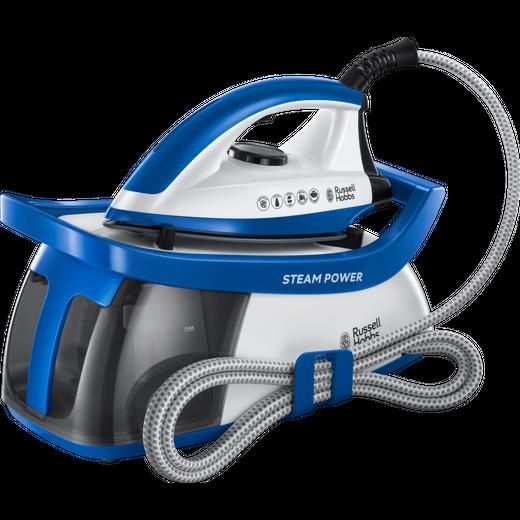 Russell Hobbs 24430 Pressurised Steam Generator Iron - Blue / White