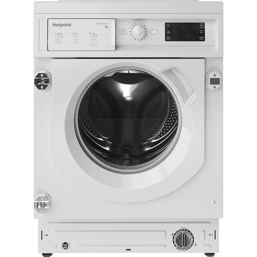 Hotpoint BIWMHG91484UK Integrated 9Kg Washing Machine with 1400 rpm - White - C Rated