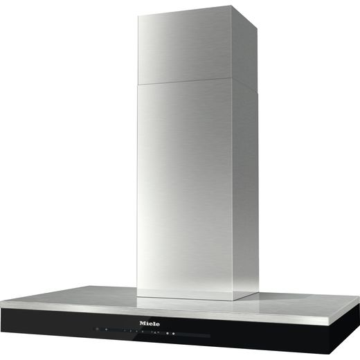 Miele DA6698W Wifi Connected Chimney Cooker Hood - Clean Steel - A++ Rated
