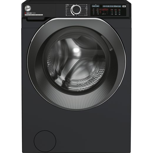 Hoover H-WASH 500 HW411AMBCB/1 Wifi Connected 11Kg Washing Machine with 1400 rpm - Black - A Rated