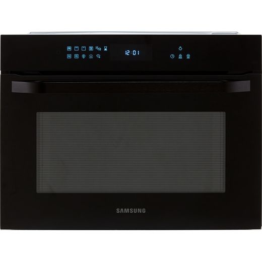 Samsung Prezio NQ50R7530BK Built In Combination Microwave Oven - Black / Glass