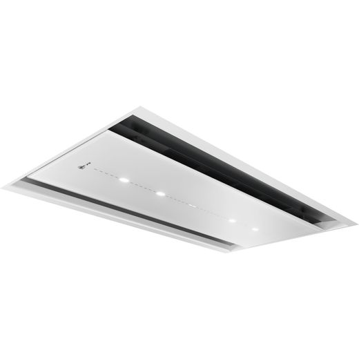 NEFF N90 I97CPS8W5B 90 cm Ceiling Cooker Hood - White - A Rated