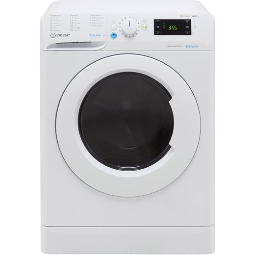 Indesit BDE861483XWUKN 8Kg / 6Kg Washer Dryer with 1400 rpm - White - D Rated