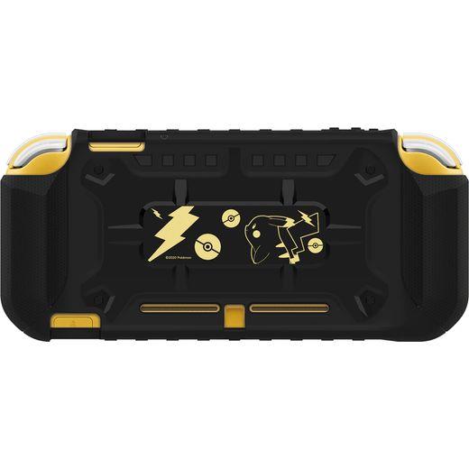 Hori Pokemon Hybrid System Armor Nintendo Switch Lite - Black / Gold