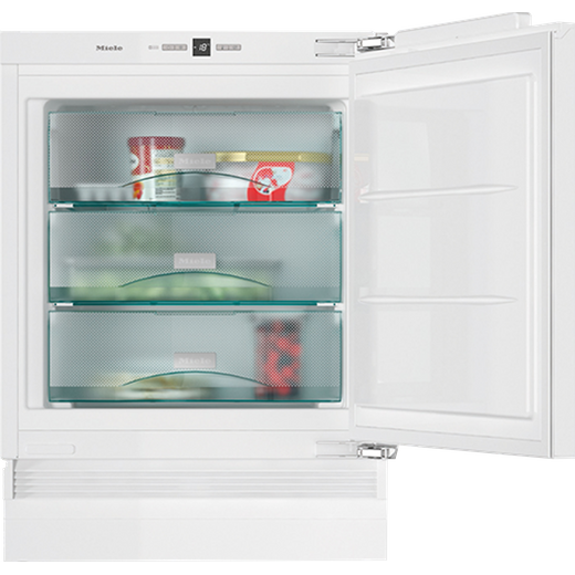 Miele F31202Ui Integrated Under Counter Freezer with Fixed Door Fixing Kit - E Rated