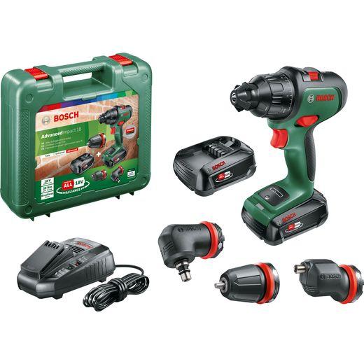 Bosch AdvancedImpact 18 Pack 18 Volts Cordless Hammer Drill