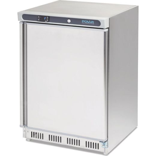 Polar CD081 Frost Free Commercial Under Counter Freezer - Stainless Steel - A Rated