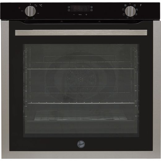 Hoover H-OVEN 300 HOXC3UB3358BI Built In Electric Single Oven - Black / Stainless Steel - A Rated