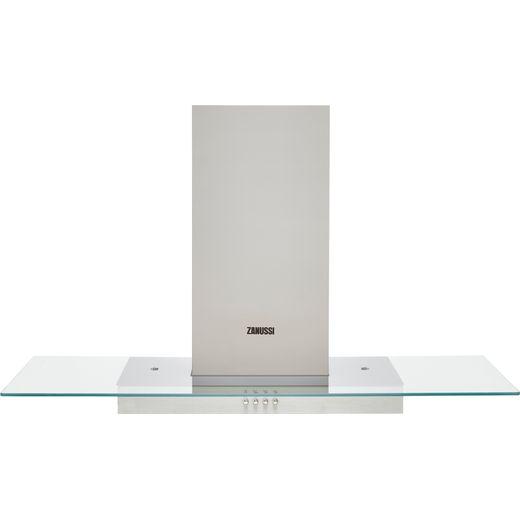 Zanussi ZHC92653XA 90 cm Chimney Cooker Hood - Stainless Steel - C Rated