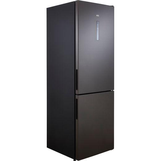 AEG RCB732E5MB 60/40 Frost Free Fridge Freezer - Dark Grey - E Rated