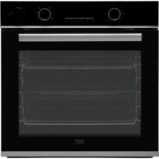 Beko AeroPerfect™ RecycledNet™ BBIS25300XC Built In Electric Single Oven with added Steam Function - Stainless Steel - A Rated