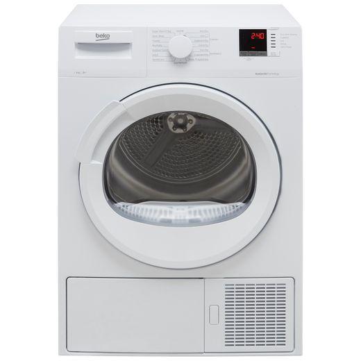 Beko DTLP91151W 9Kg Heat Pump Tumble Dryer - White - A+ Rated