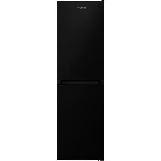 Hotpoint HBNF55181BUK1 50/50 Frost Free Fridge Freezer - Black - F Rated