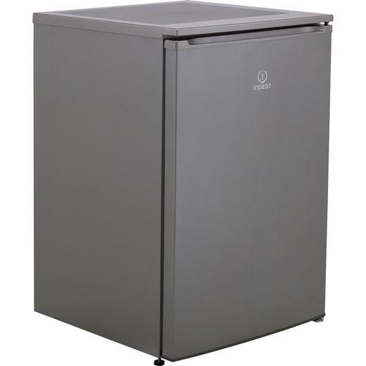 Indesit I55VM1110SUK1 Fridge with Ice Box - Silver - F Rated