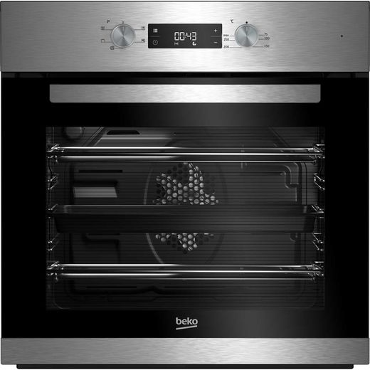 Beko EcoSmart BRIF22300X Built In Electric Single Oven - Stainless Steel - A Rated