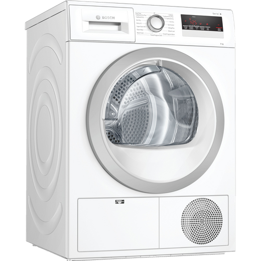 Bosch Serie 4 WTN85251GB 8Kg Condenser Tumble Dryer - White - B Rated