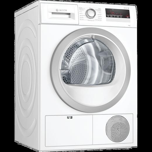 Bosch Serie 4 WTN85251GB 8Kg Condenser Tumble Dryer - White