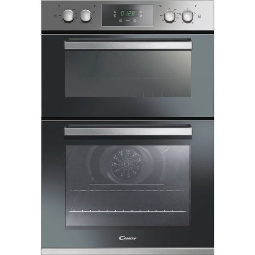 Candy FC9D405X Built In Electric Double Oven - Stainless Steel - A Rated