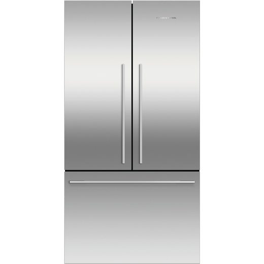 Fisher & Paykel RF610ADX5 American Fridge Freezer - Stainless Steel - F Rated