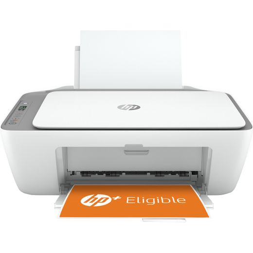 HP DeskJet 2720e All-In-One Inkjet Printer Includes 6 months of Instant Ink with HP PLUS - Grey / White
