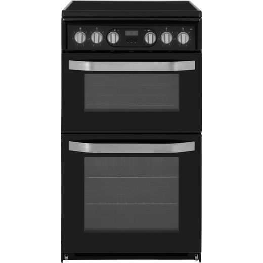 Hotpoint HD5V93CCB/UK Electric Cooker with Ceramic Hob - Black - A/B Rated