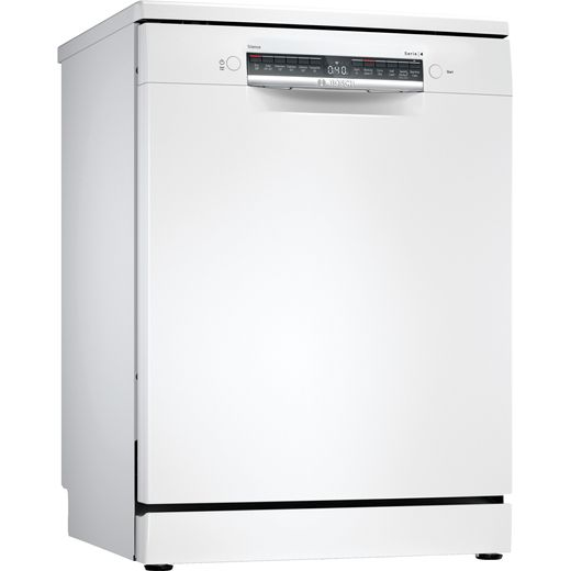 Bosch Serie 4 SMS4HCW40G Wifi Connected Standard Dishwasher - White - D Rated