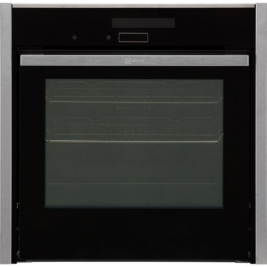 NEFF N90 Slide&Hide® B58CT68H0B Wifi Connected Built In Electric Single Oven - Stainless Steel - A Rated