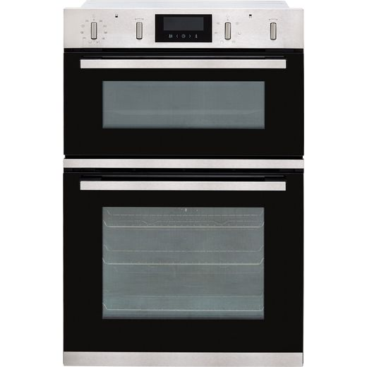 NEFF N50 U2GCH7AN0B Built In Electric Double Oven - Stainless Steel - A/B Rated