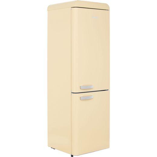 Swan Retro SR11020CN 70/30 Fridge Freezer - Cream - F Rated