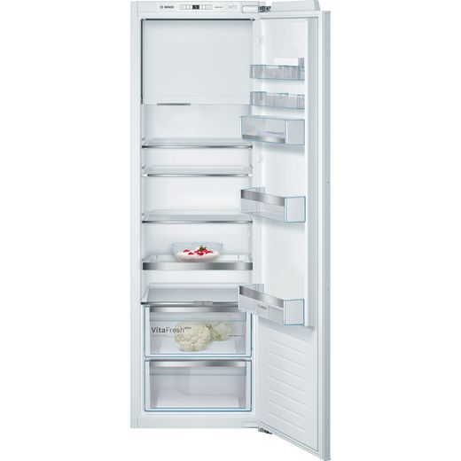 Bosch Serie 6 KIL82AFF0G Integrated Upright Fridge - Fixed Door Fixing Kit - White - F Rated