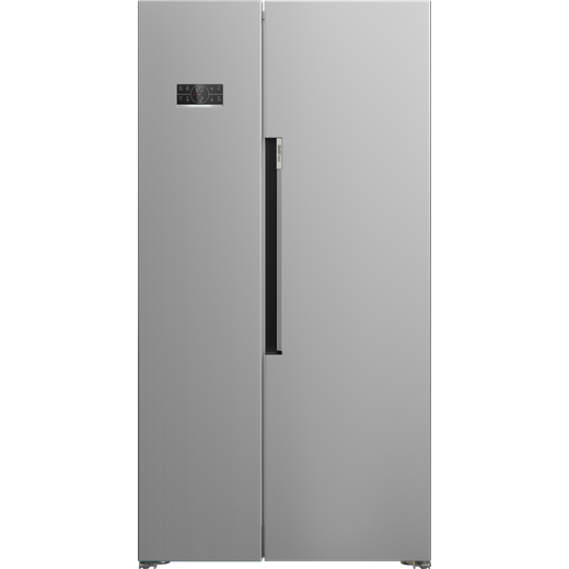Beko ASL1342S American Fridge Freezer - Silver - F Rated