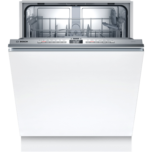 Bosch Serie 4 SMV4HTX27G Built In Standard Dishwasher - Stainless Steel