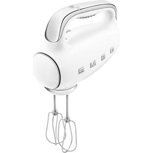 Smeg 50's Retro HMF01WHUK Hand Mixer with 3 Accessories - White