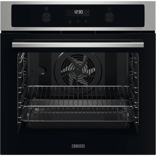 Zanussi ZOPND7X1 Built In Electric Single Oven - Stainless Steel - A+ Rated