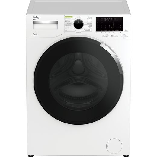 Beko HygieneShield WDEY854044HW 8Kg / 5Kg Washer Dryer with 1400 rpm - White - D Rated
