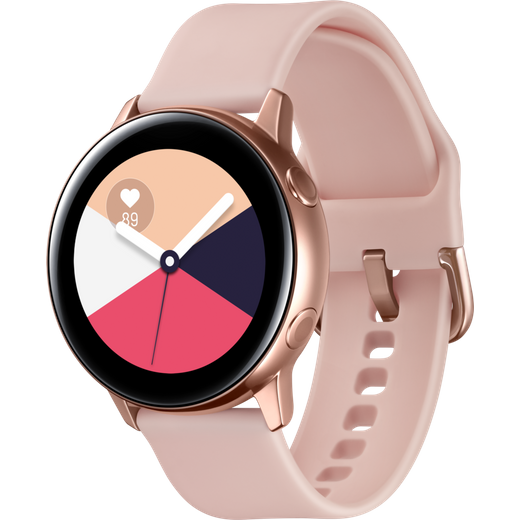 Samsung Galaxy Watch Active, GPS - 40mm - Rose Gold
