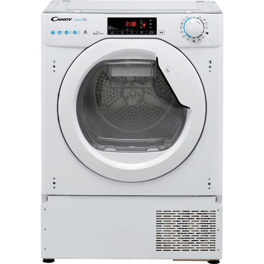 Candy BCTDH7A1TE Integrated Wifi Connected 7Kg Heat Pump Tumble Dryer - White - A+ Rated