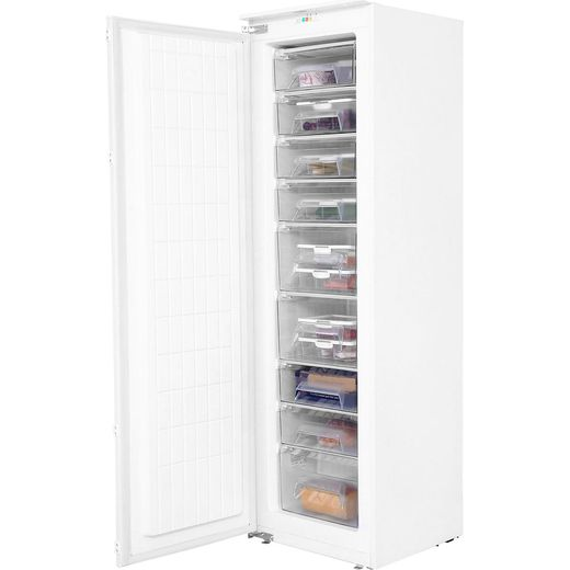 Amica BZ226.3 Integrated Upright Freezer with Sliding Door Fixing Kit - F Rated