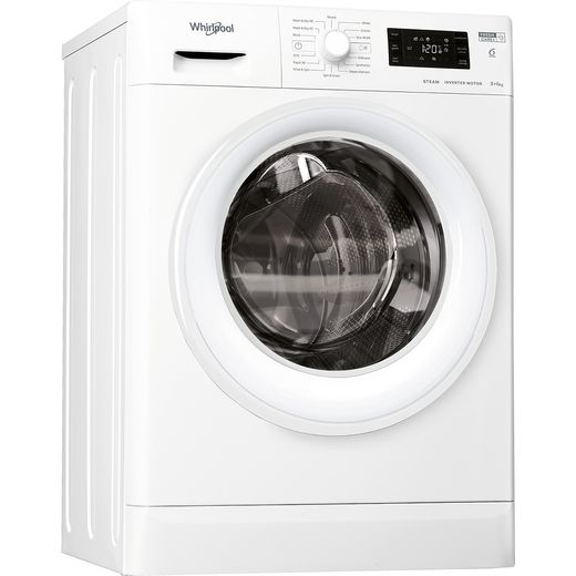 Whirlpool FWDG86148WUKN 8Kg / 6Kg Washer Dryer with 1400 rpm - White - D Rated