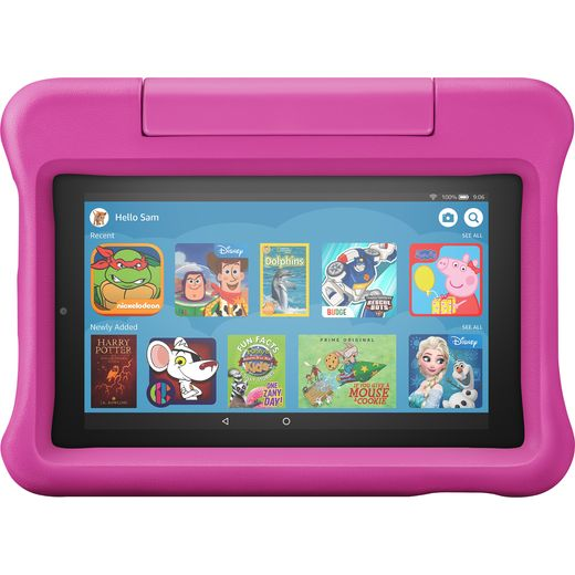 """Amazon Fire Kids Edition 7"""" 16GB Wifi Tablet - Pink"""