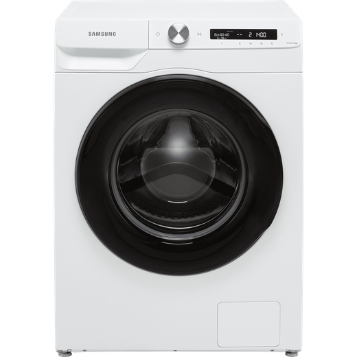 Samsung Series 5+ AutoDose™ WW80T534DAW Wifi Connected 8Kg Washing Machine with 1400 rpm - White - B Rated