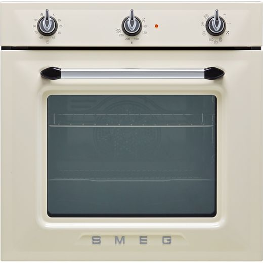 Smeg Victoria SF6905P1 Built In Electric Single Oven - Cream - A Rated