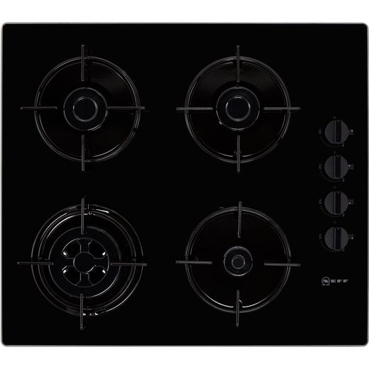 NEFF N30 T26CR51S0 Built In Gas Hob - Black