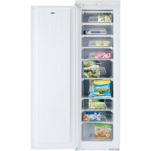Candy CFFO3550EK/N Integrated Upright Freezer with Sliding Door Fixing Kit - A+ Rated