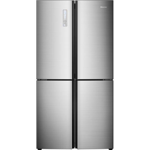 Hisense RQ689N4AC1 American Fridge Freezer - Stainless Steel Effect - A+ Rated