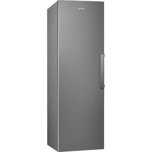 Smeg UKFF18EN2HX Frost Free Upright Freezer - Silver - E Rated