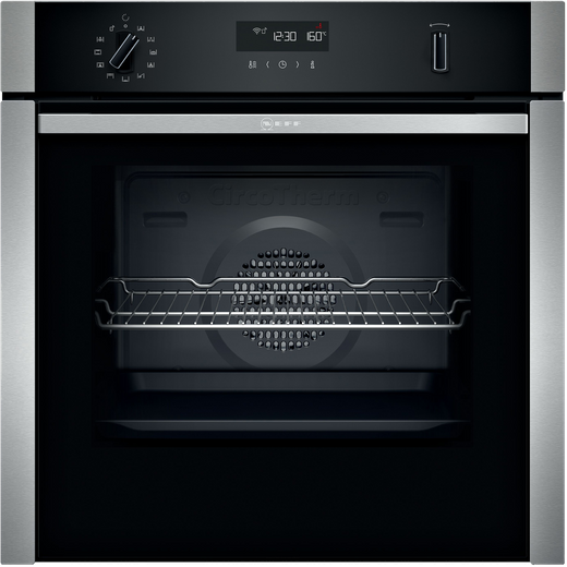NEFF N50 Slide&Hide® B6ACH7HH0B Built In Electric Single Oven - Stainless Steel - A Rated